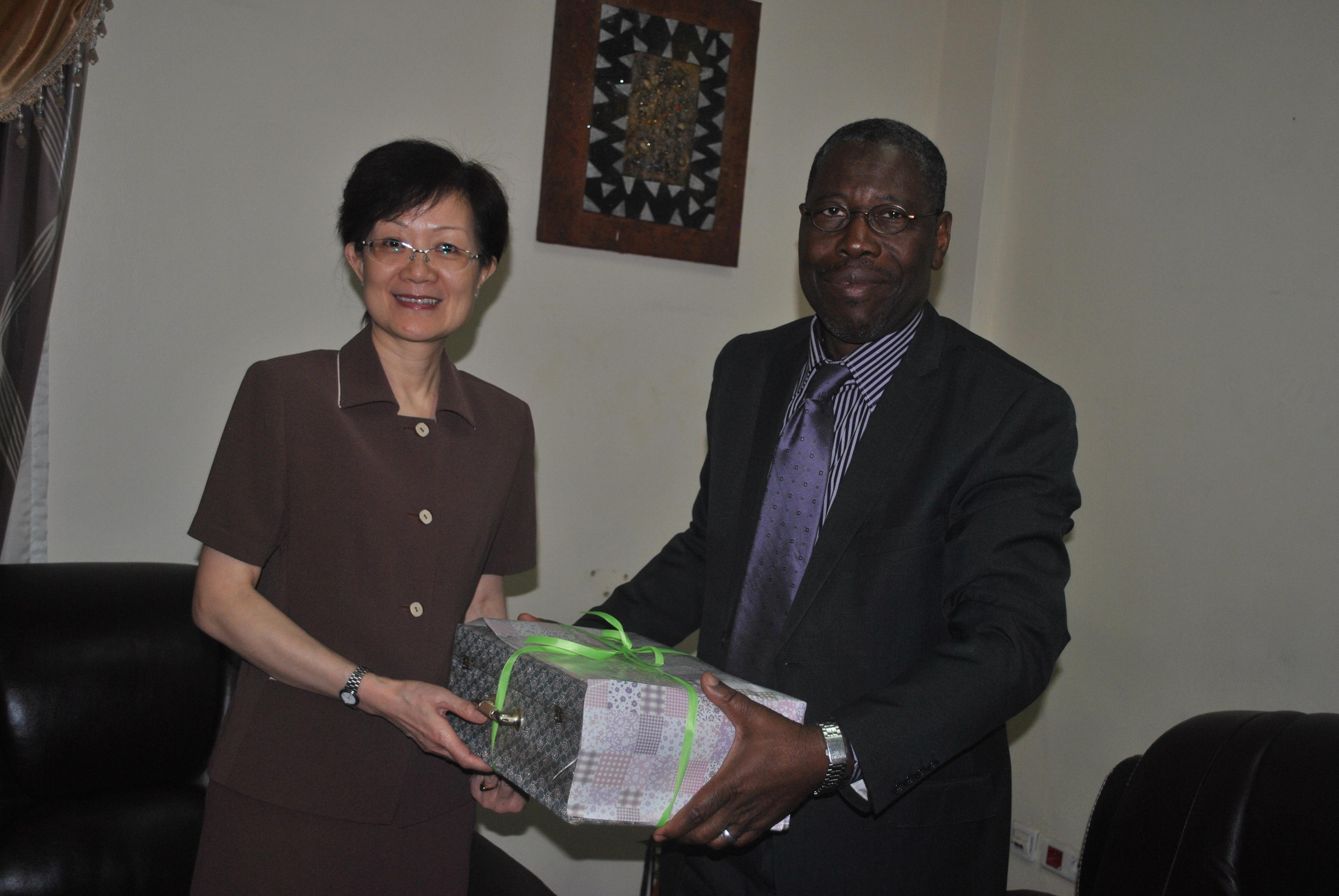 Coopration sino malienne la nouvelle ambassadrice de